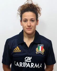 Parma, 13/12/2015, raduno della Nazionale femminile, squadra e profili individuali, Jessica Busato, 03/11/93, Beneton Rugby Treviso.