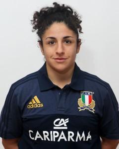 Parma, 13/12/2015, raduno della Nazionale femminile, squadra e profili individuali, Lucia Cammarano, 27/07/92, Rugby Monza 1949.
