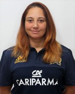 Parma, 13/12/2015, raduno della Nazionale femminile, squadra e profili individuali, Elena Chiarella, preparatrice atletica.