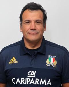Parma, 13/12/2015, raduno della Nazionale femminile, squadra e profili individuali, Tito Cicciò, assistente allenatore.