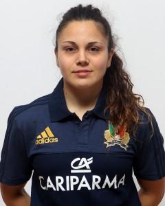 Parma, 13/12/2015, raduno della Nazionale femminile, squadra e profili individuali, Maria Grazia Cioffi, 03/02/89, USD Rugby Benevento.