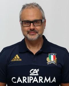 Parma, 13/12/2015, raduno della Nazionale femminile, squadra e profili individuali, Berardino De Luca, medico.