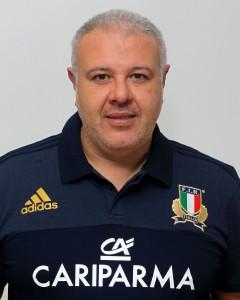 Parma, 13/12/2015, raduno della Nazionale femminile, squadra e profili individuali, Andrea Di Giandomenico, allenatore.