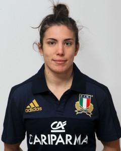 Parma, 13/12/2015, raduno della Nazionale femminile, squadra e profili individuali, Silvia Folli, 02/12/92, Valsugana Rugby Padova.