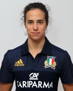 Parma, 13/12/2015, raduno della Nazionale femminile, squadra e profili individuali, Manuela Furlan, 30/06/88, Benetton Rugby Treviso.