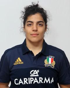 Parma, 13/12/2015, raduno della Nazionale femminile, squadra e profili individuali, Gaia Giacomolli, 01/01/95, Rugby Colorno F.C.
