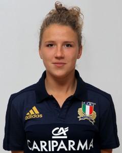Parma, 13/12/2015, raduno della Nazionale femminile, squadra e profili individuali, Veronica Madia, 16/01/95, Rugby Colorno F.C.