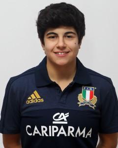 Parma, 13/12/2015, raduno della Nazionale femminile, squadra e profili individuali, Beatrice Rigoni, 01/08/95, Valsugana Rugby Padova.