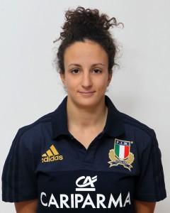Parma, 13/12/2015, raduno della Nazionale femminile, squadra e profili individuali, Michela Sillari, 23/02/93, Rugby Colorno F.C.