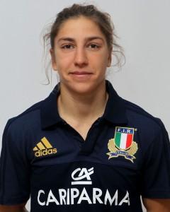 Parma, 13/12/2015, raduno della Nazionale femminile, squadra e profili individuali, Sofia Stefan, 12/05/92, Stade Rennais Rugby.