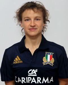Parma, 13/12/2015, raduno della Nazionale femminile, squadra e profili individuali, Paola Zangirolami, 22/10/84, Valsugana Rugby Padova.